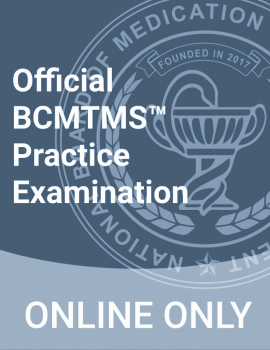 Official BCMTM Practice Exam Cover